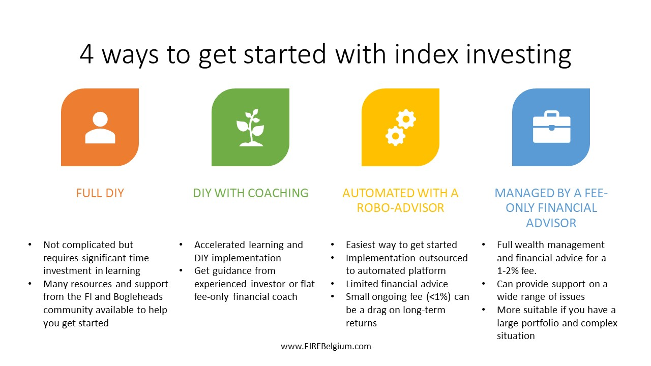 4 ways to get started with index investing